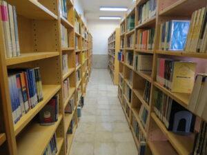 کتاب خانه دانشگاه جامع علمی کاربردی خانه کارگر قزوین